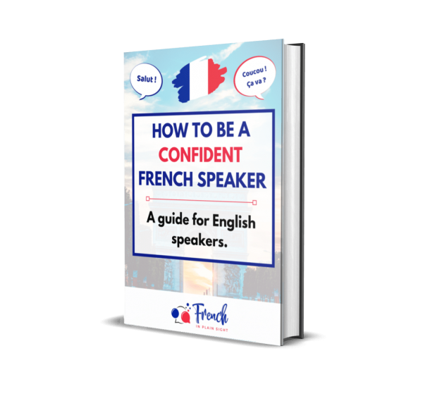 Image of free guide - How to be a confident French speaker by Alex Barron