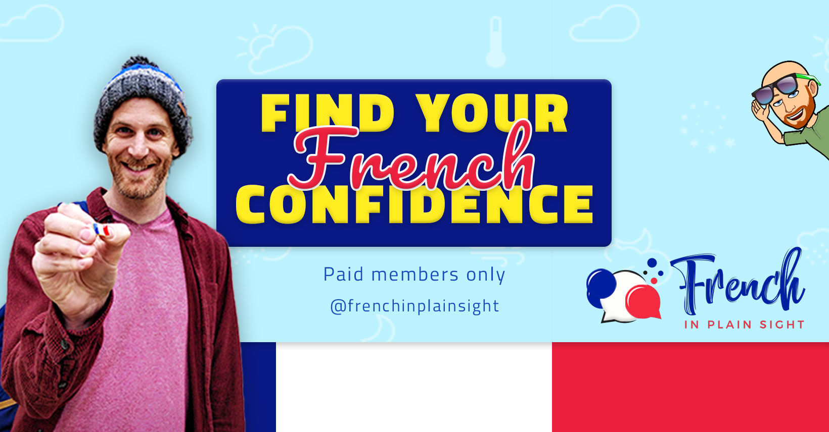 Find Your French Confidence course image